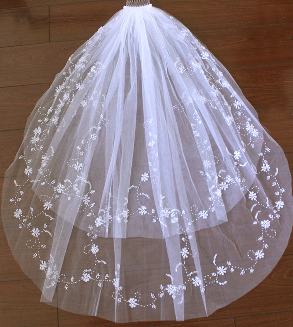 Buy white ivory wedding accessories veil for Where to buy wedding accessories