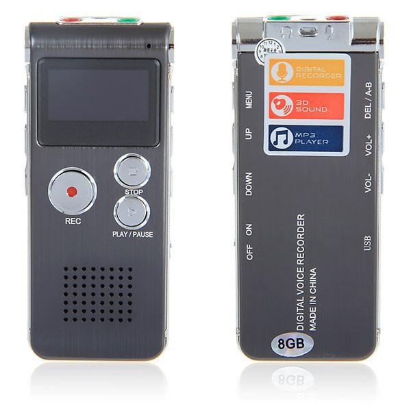 GH-609 4GB Mini USB Digital Voice Recorder Dictaphone MP3 Player(China (Mainland))