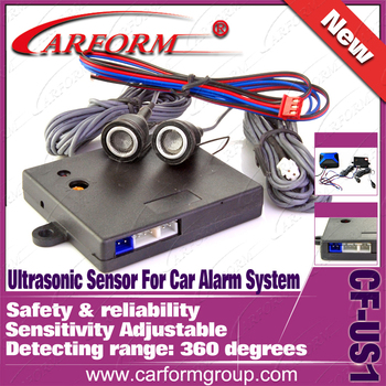 Free Shipping Car Ultrasonic  Sensor LED alert Sensitivity adjustable Car Alarm Ultrasonic Sensor