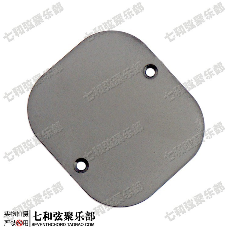 2 Pcs Black Electric Guitar Switch Cover Cavity Cover Back plate Pickguard(China (Mainland))
