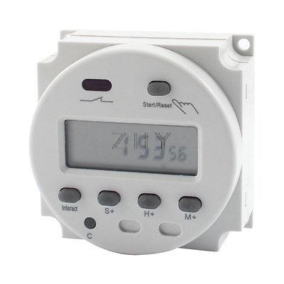 CN102 AC/DC 12V Programmable LCD Digital Display Timer Control Switch(China (Mainland))