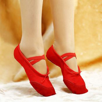 Согласно СМ Купить, Холст Балет Танцевальная Обувь Для Девочек Женщина Дети Тапочки Zapatos De Punta De Балета бесплатная Доставка