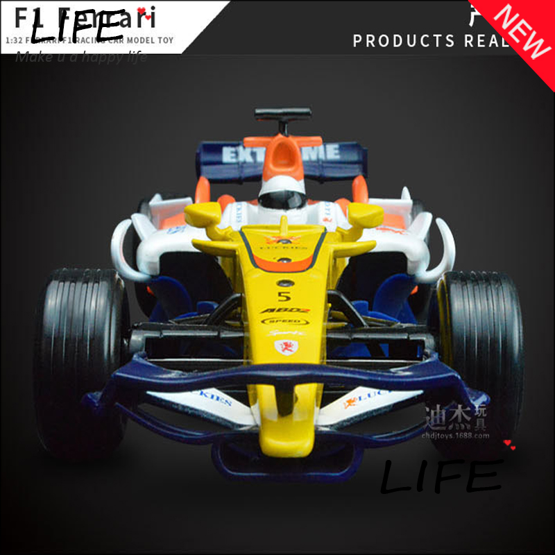 Hot Sale Luxurious F1 Racing Car Alloy Model For Kids Toys Wholesale Cool Toy Car Hot Wheels 1:32 Christmas Gift(China (Mainland))