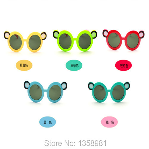 Min Order $9.9 Free Shopping Fashion Children's Goggles(Yellow/Blue/Green/Rose Red)(1Pr)(China (Mainland))