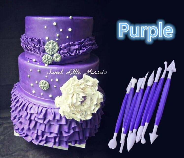 8pcs/set Sugarcraft Fondant Cake Pastry Carving Cutter ...