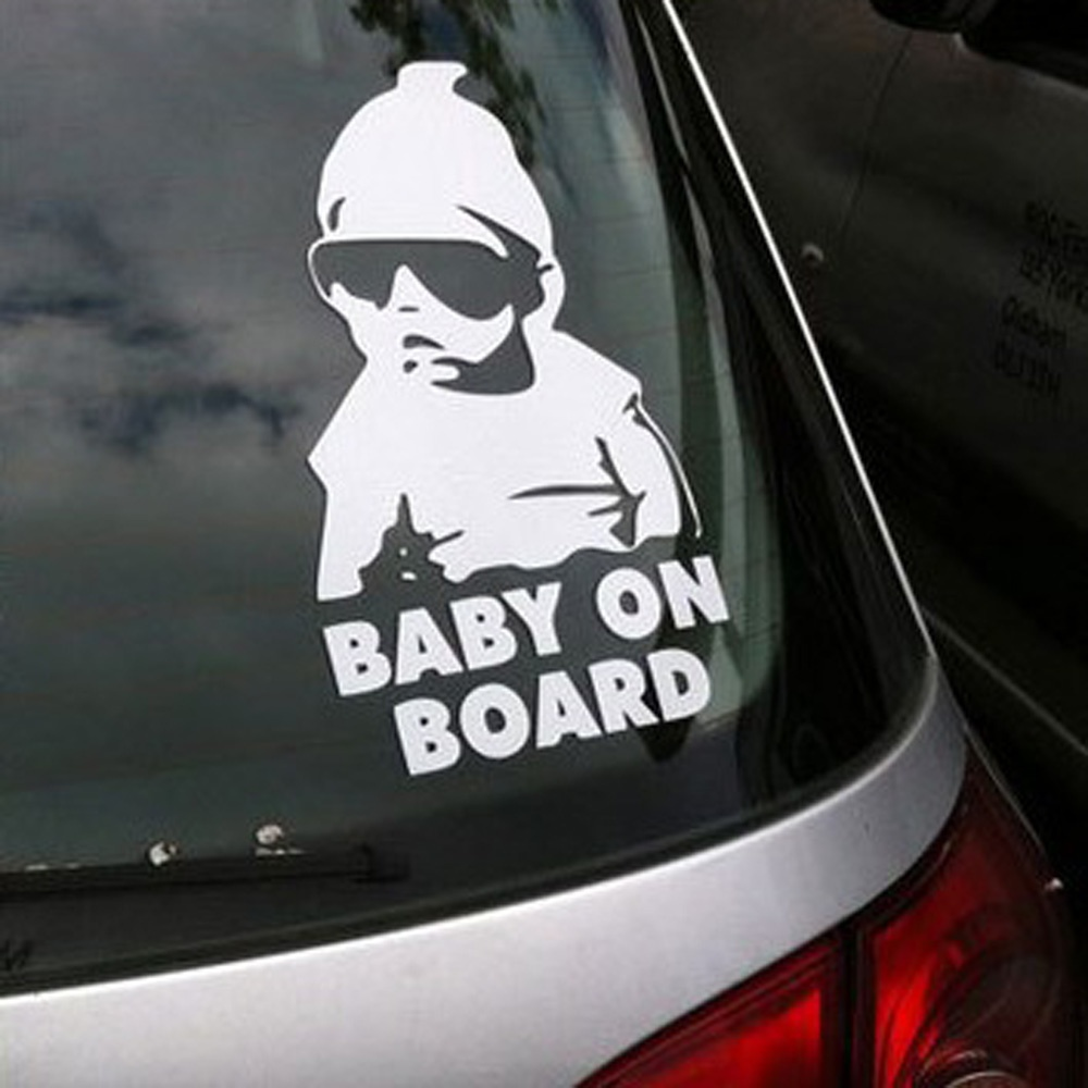 Baby On Board Carlos Hangover Funny Car Vinyl Stickers Decals(China (Mainland))