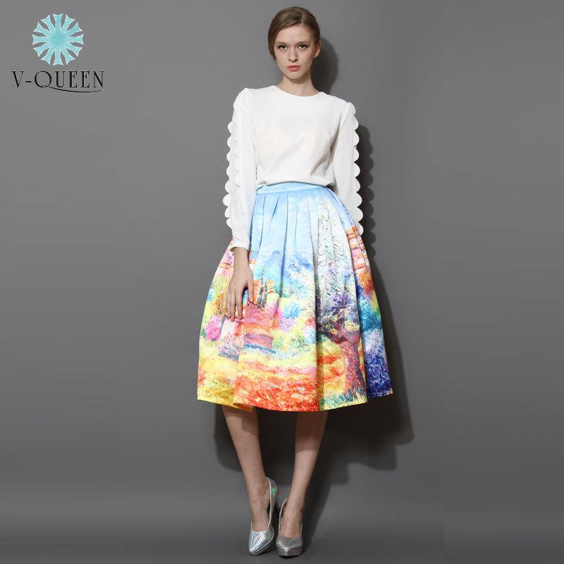 Женская юбка V-Q 2015