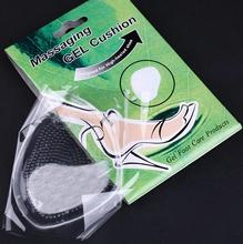 Silica Gel forefoot Shoe pad Insoles women's high heel Elastic Silicone Cushion Protector Comfy Feet Palm Care Pads MR0050