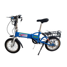 Perennial supply of quality durable 36V lithium battery electric bicycle 16 inch folding bike safety light