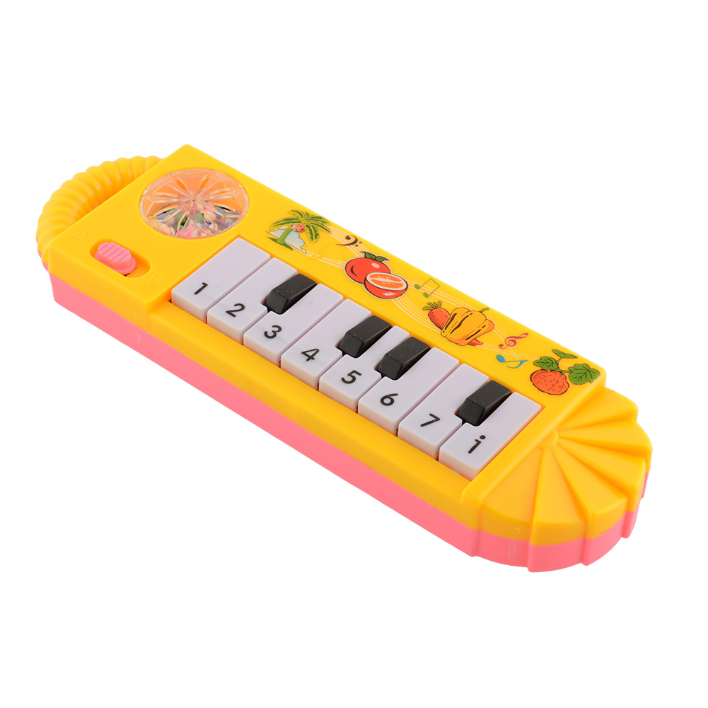 Cute Baby Toddler Kids Popular plastic Musical Piano Developmental Game Toy Early Educational Toys Game(China (Mainland))