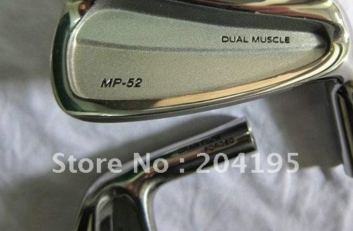 1 Set MP-52 Golf Irons (3-9,P) with Steel Shaft R/S Flex Free Headcover freeshipping