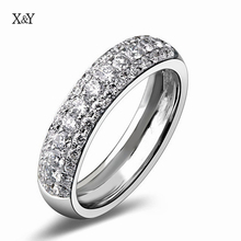 Fashion Exquisite Wild Punk Silver Plated Ring Pave Setting CZ Diamond Vintage Bague Rings For Women Engagement Accessories