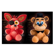 "Five Nights At Freddy's 4 FNAF  Foxy Fox Freddy Fazbear Bear Doll Plush Toys 10""(China (Mainland))"