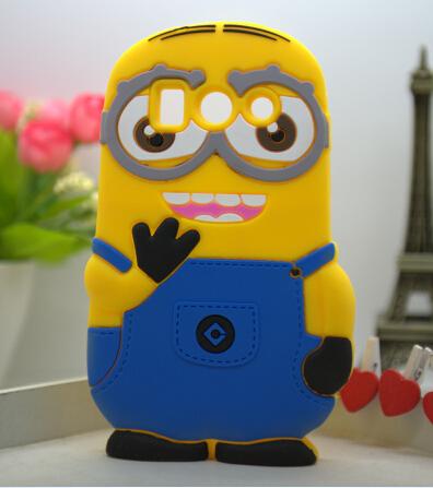 3D Cute Cartoon Despicable Minion Soft Universal Case Huawei G520 G510 Cover - Shenzhen Bingo Trade Co., Ltd store