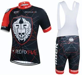 top qualit t 2015 team rock racing radsportbekleidung. Black Bedroom Furniture Sets. Home Design Ideas