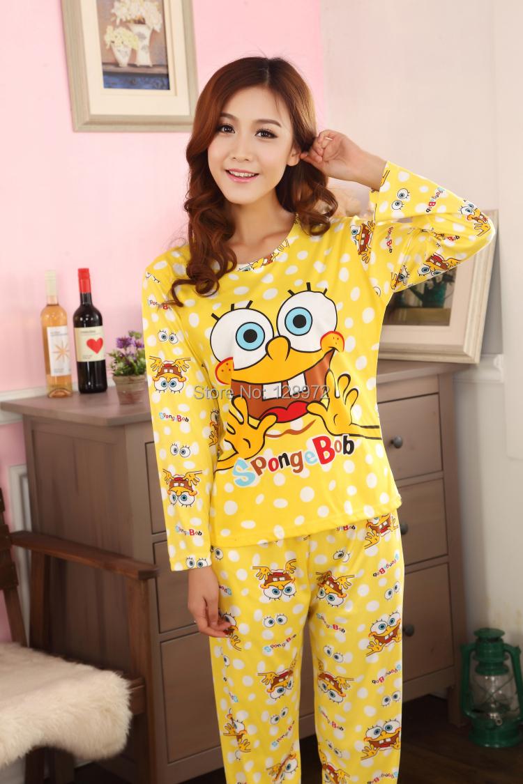 adult women girls spongebob pajamas