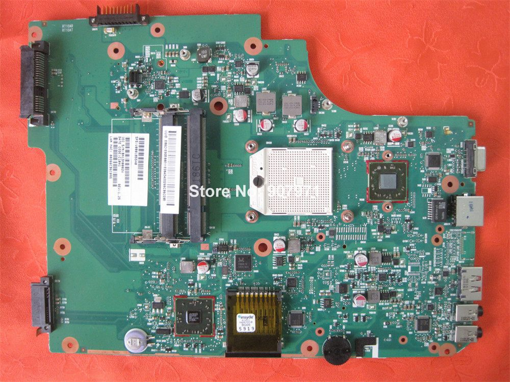 V000185540 For Toshiba Satellite L505D Laptop Motherboard Mainboard Fully Tested To Work Well<br><br>Aliexpress