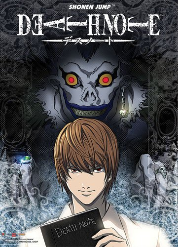 Anime Cartoon Series Wall Poster 50x75 CM Death Note Light and Ryuk Wall Stickers Best Gift To Friends(China (Mainland))