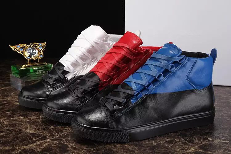 men's flat summer autumn style class gradient pack arena sneaker shoes genuine leather Stingrays pleated arena sneaker shoes(China (Mainland))