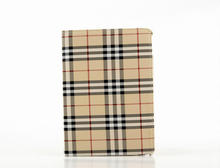 Fashion Tartan Design 360 Degree Leather case for iPad Air 2 Smart Cover iPad 6 Flip Cases With Stand Function+screen protectors