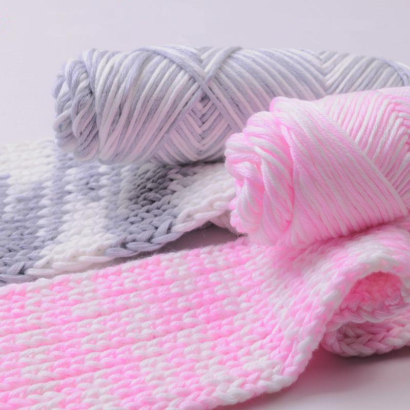 Knitting Warehouse Location : Aliexpress buy g lot cotton yarn hand woven thick