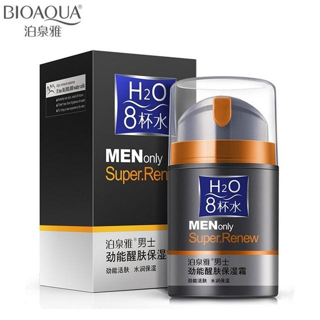 50 г марка BIOAQUA уход за кожей мужчины глубоко увлажняющий масло-контроля крем ...