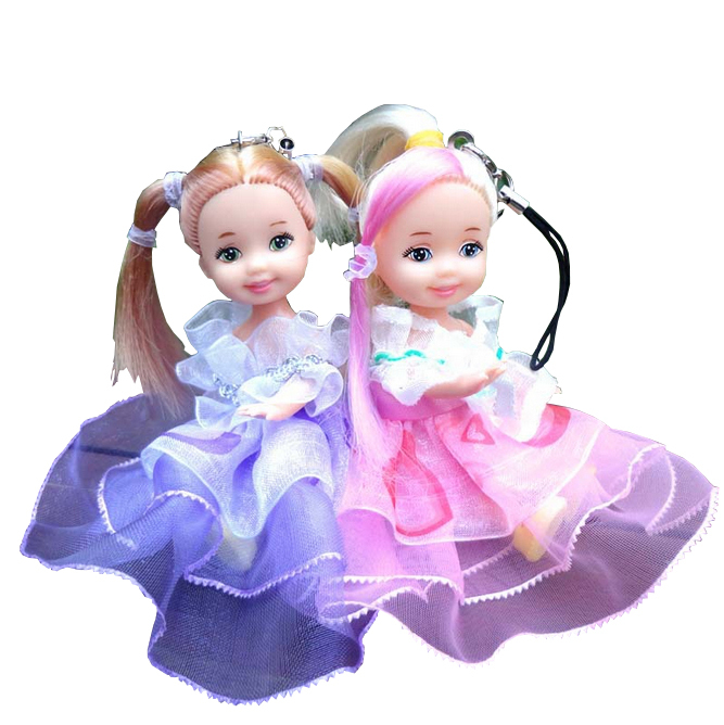Free shipping-001 Beautiful Girls toy 10cm Fashion Doll baby dolls for girls good Girl Gifts kids Doll Classic Dolls baby toy(China (Mainland))