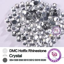 SS4-SS30 Strass DMC Hot Fix Crystal Mini Size Clear Heat Fix Rhinestones for DIY Motifs And Designs(China (Mainland))