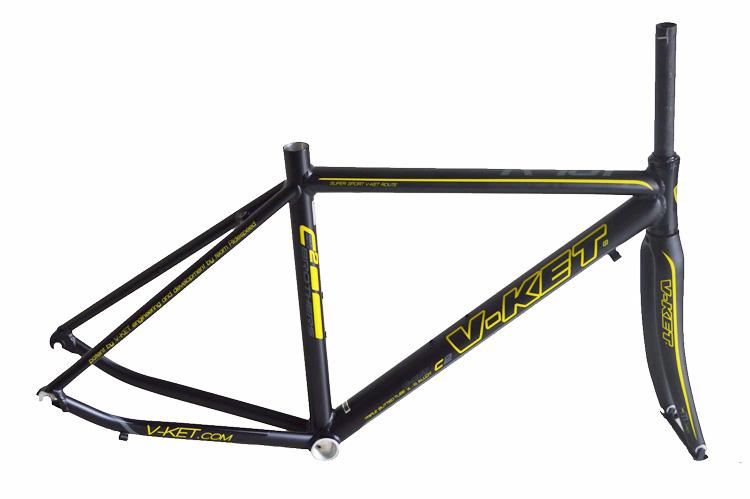 road bike frame and carbon fork /racing bike frame and fork 700C*45/47/49/51/53/BICYCLE FRAME(China (Mainland))