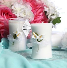 FD2768 Elegant Floral Flower Candle With Box For Wedding X'mas Home Decor Gift(China (Mainland))