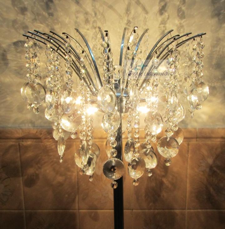 Kristall stehleuchte kaufen billigkristall stehleuchte for Stehlampe kristall
