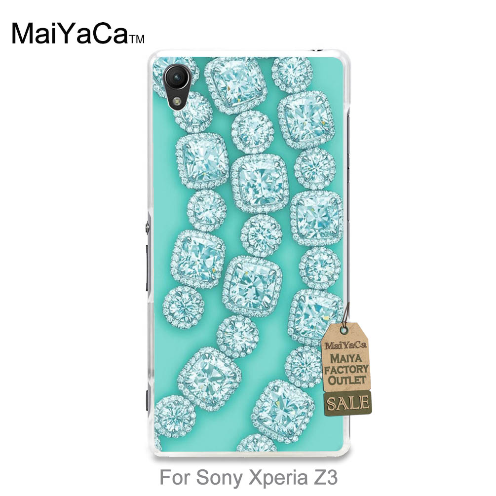 2016 Colored Drawing Hard Case Diamond crystal jewelry in mint For case z3(China (Mainland))