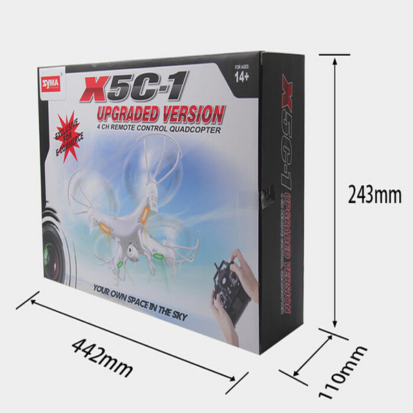 Syma X5C-1 Sky Eyes Video Quadcopter Drone Syma X5C-1 RC Helicopter With 2.0MP HD Camera(China (Mainland))