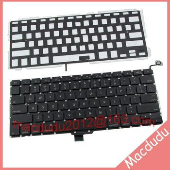 """Laptop Keyboard For Macbook Pro 13"""" MB990 MC700 MC374 MD101 A1278 US Keyboard With Backlight Tested!"""