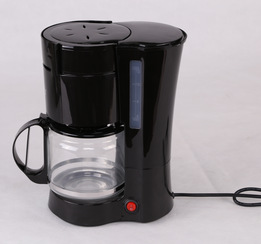Drip Coffee Maker Voltage : 220v Balck automatic american coffee tea machine makers drip coffee maker with spoon glass ...
