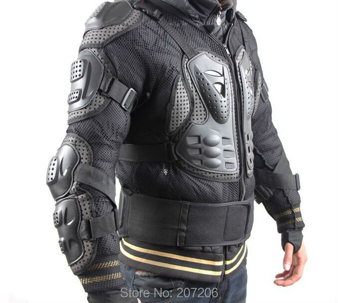Professional Motorcross Racing Full Body Armor Spine Chest Protective Jacket Motorcycle Riding Body Protection Gear Guards