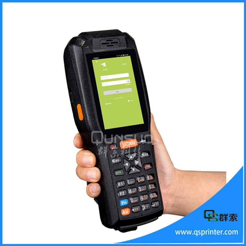 Newest Design Android 4.2 Os screen Rugged Industrial Pda 1d Barcode Scanner Sim Card Slot(China (Mainland))