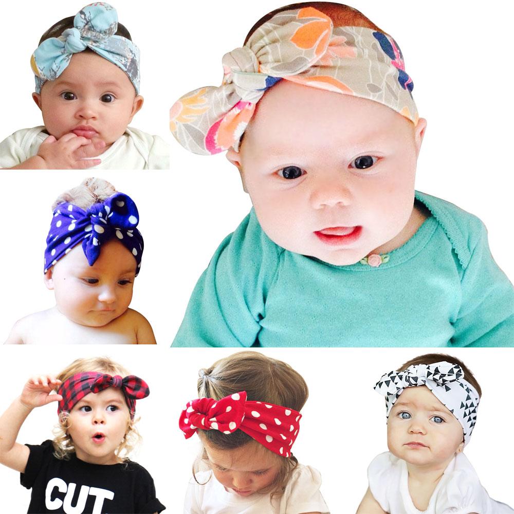 100pcs newest Baby / mom Adjustable Head Wrap gingham dot Headbands Turban Twist Headwrap Hair Bands Accessories Bandana FD6601(China (Mainland))