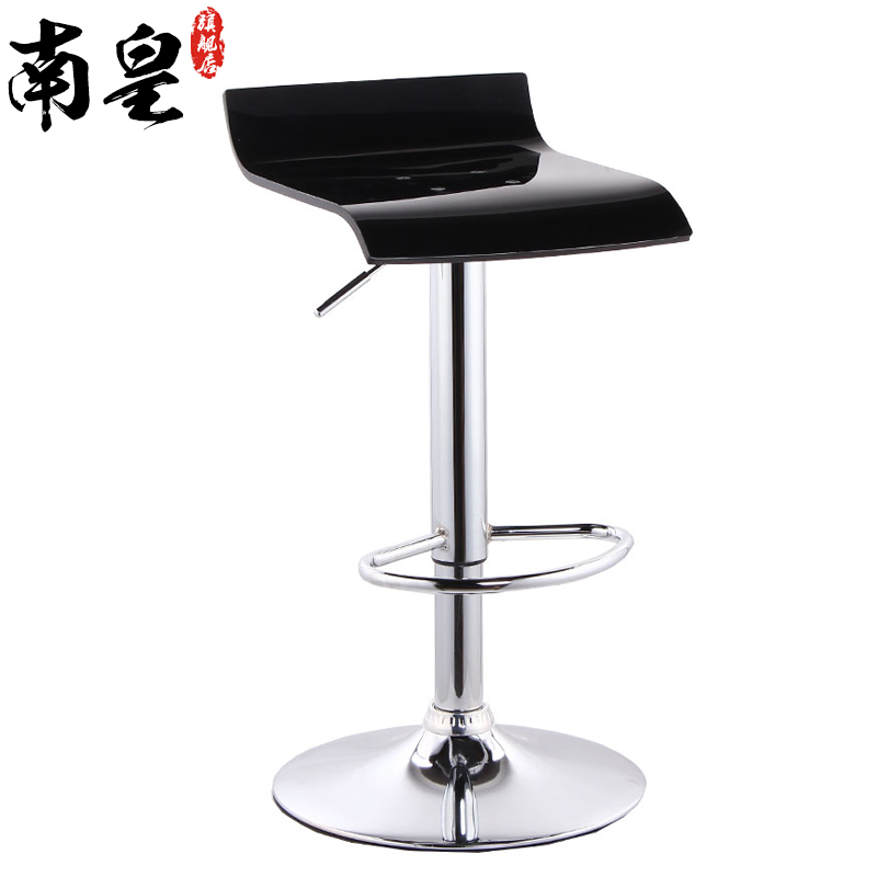 Bar chairs stylish bar stool chair backrest Front cashier tall lift<br>
