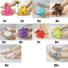 Hot Sale! New Arrival Free Shipping Top Baby Shoes Flower Design Baby Prewalker Shoes Infant Shoes Cotton Barefoot Sandals(China (Mainland))