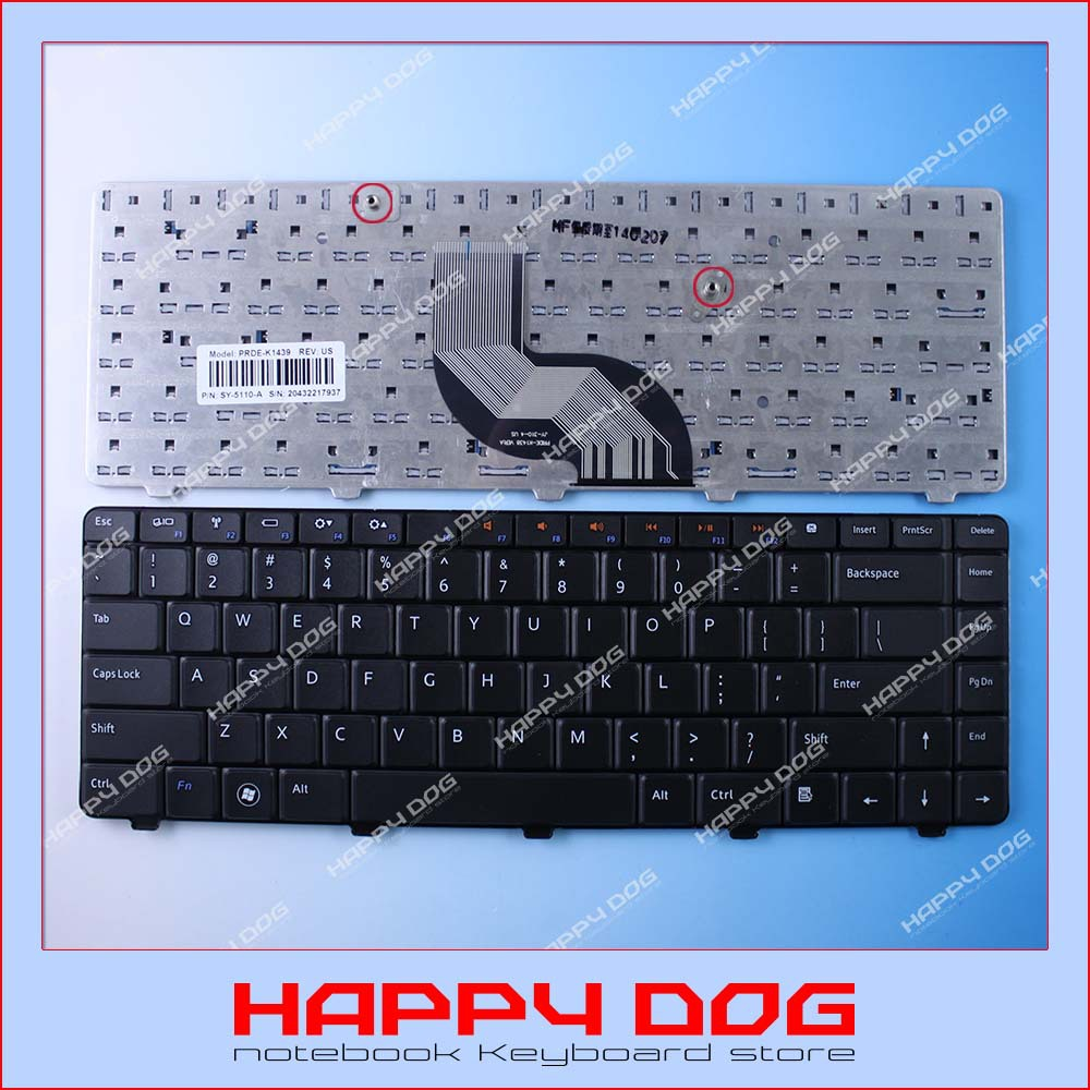 Black US Laptop Keyboard Dell Inspiron 14R 13R 14V N3010 N4010 N4020 N4030 N5020 N5030 M4010 M4030 M5030 T139 - Happy Dog store