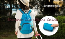 500pcs/lot waterproof backpacks women backpack school bag ladies men's travel bags for women Schoolbag Rucksack Foldable(China (Mainland))