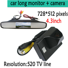 """Buy 4.3"""" TFT LCD Auto Car Rear View Mirror Monitor Parking + Night Vision Car Rearview Reverse CCD Camera TOYOTA Land Cruiser LC for $38.14 in AliExpress store"""