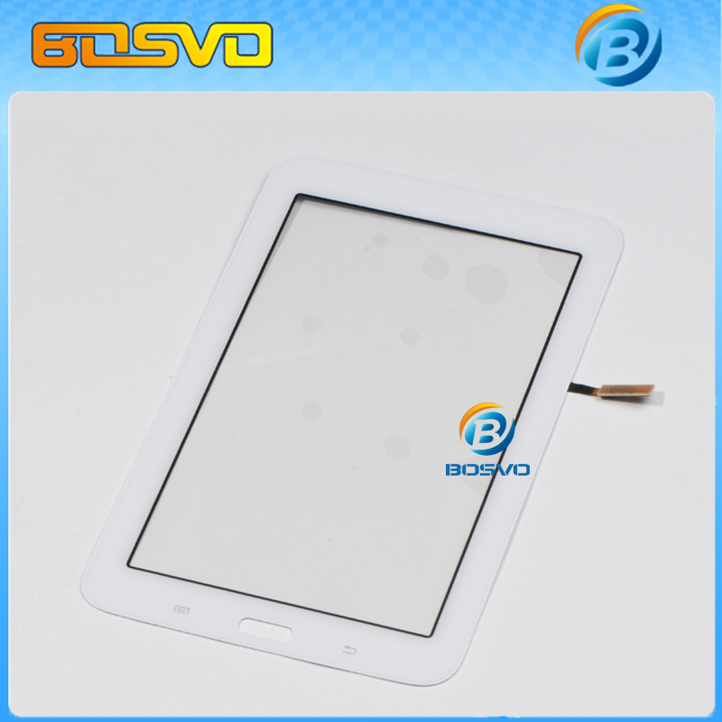 Original replacement For Samsung GALAXY Tab 3 Lite T110 touch digitizer lcd screen glass with flex cable 1 piece free shipping