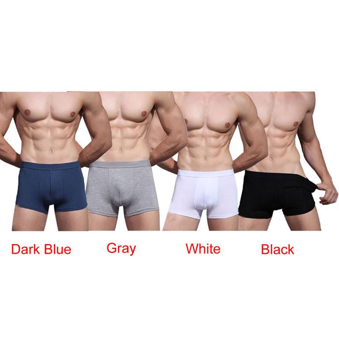Wavors 2016 New Arrival Sexy Underwear Men Boxers Shorts Bulge Pouch Soft Comfortable Casual Underpants Men Male Boxer Plus Size