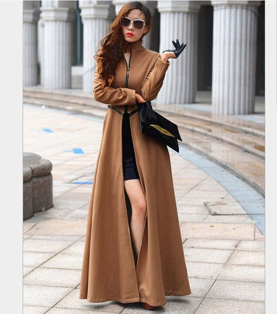 Long Winter Jacket Women