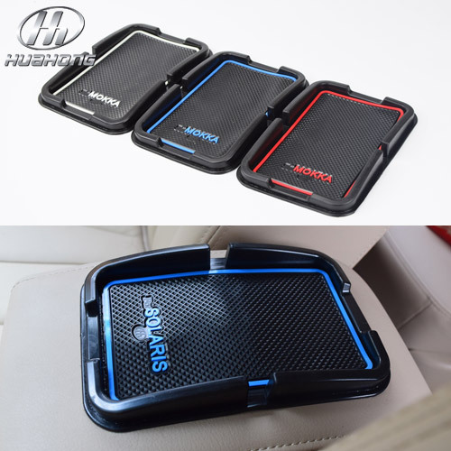 For Hyundai Solaris anti slip mat sticker car interior dashboard Phone GPS Holder pad silicone material products decoration(China (Mainland))