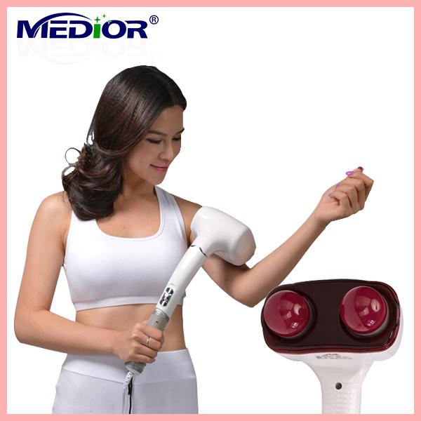 MEDIOR MD-888 massage hammer,Magnetic Infrared Electronic Massage Stick,Handheld Professional Electric Back Massager Vibrater(China (Mainland))