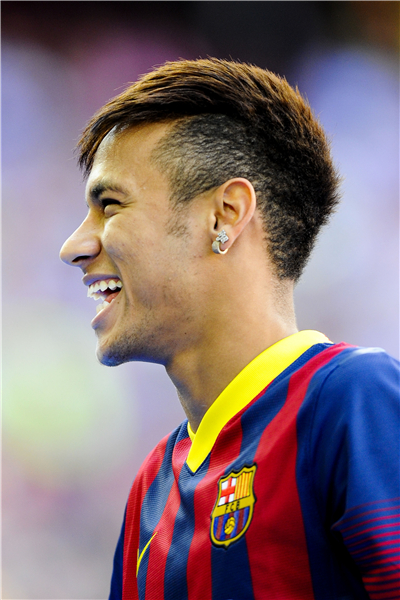 Neymar Poster Neymar JR Posters World Cup Wall Sticker Soccer Ball Wallpapers Canvas Prints Barcelona Football Stickers #2114#(China (Mainland))