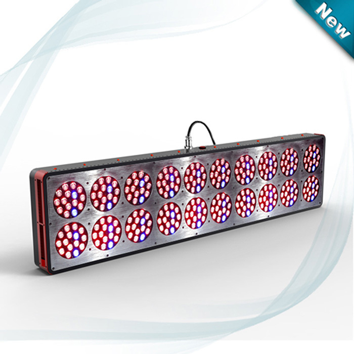 Apollo20 900W 10bands Full Spectrum LED Grow light with Cree led lights For Indoor Plants Hydroponic SystemHigh Efficiency(China (Mainland))
